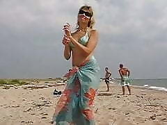 Beach porn clips - sex with mature